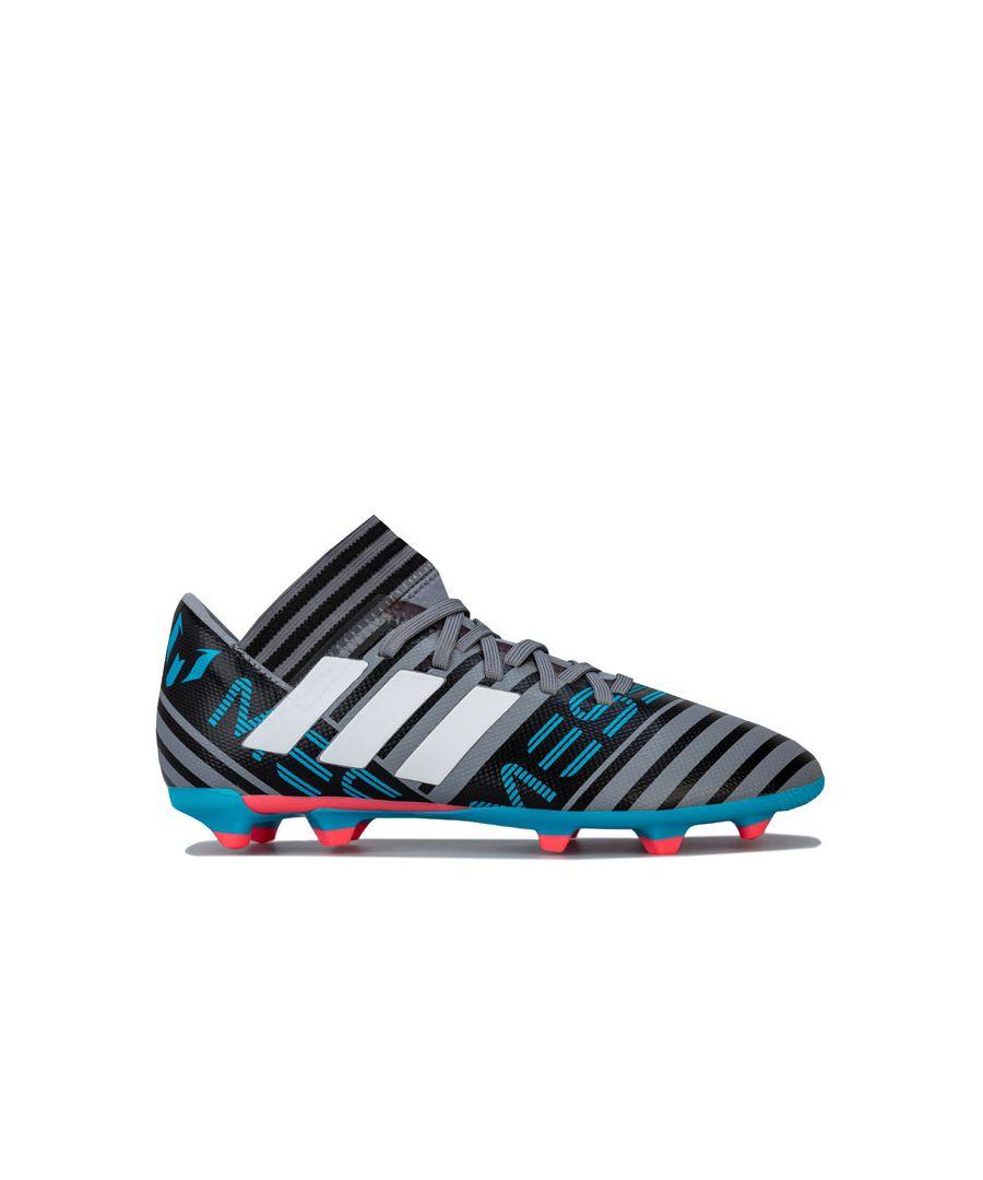 Image for Boy's adidas Children Nemeziz Messi 17.3 FG Football Boots in Black