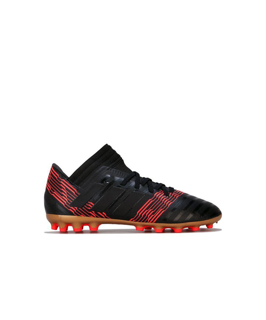 Image for Boy's adidas Junior Nemeziz 17.3 AG Football Boots in Black
