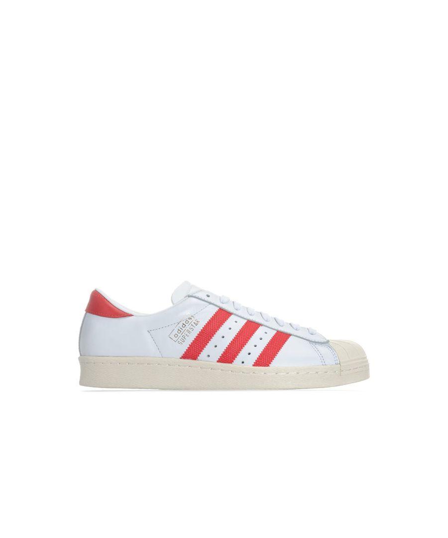 Image for Men's adidas Originals Superstar OG Trainers in White