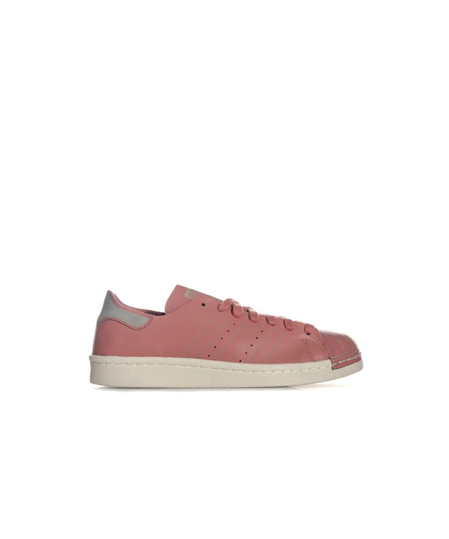Image for Women's adidas Originals Superstar 80s Decon Trainers in Dusky Pink