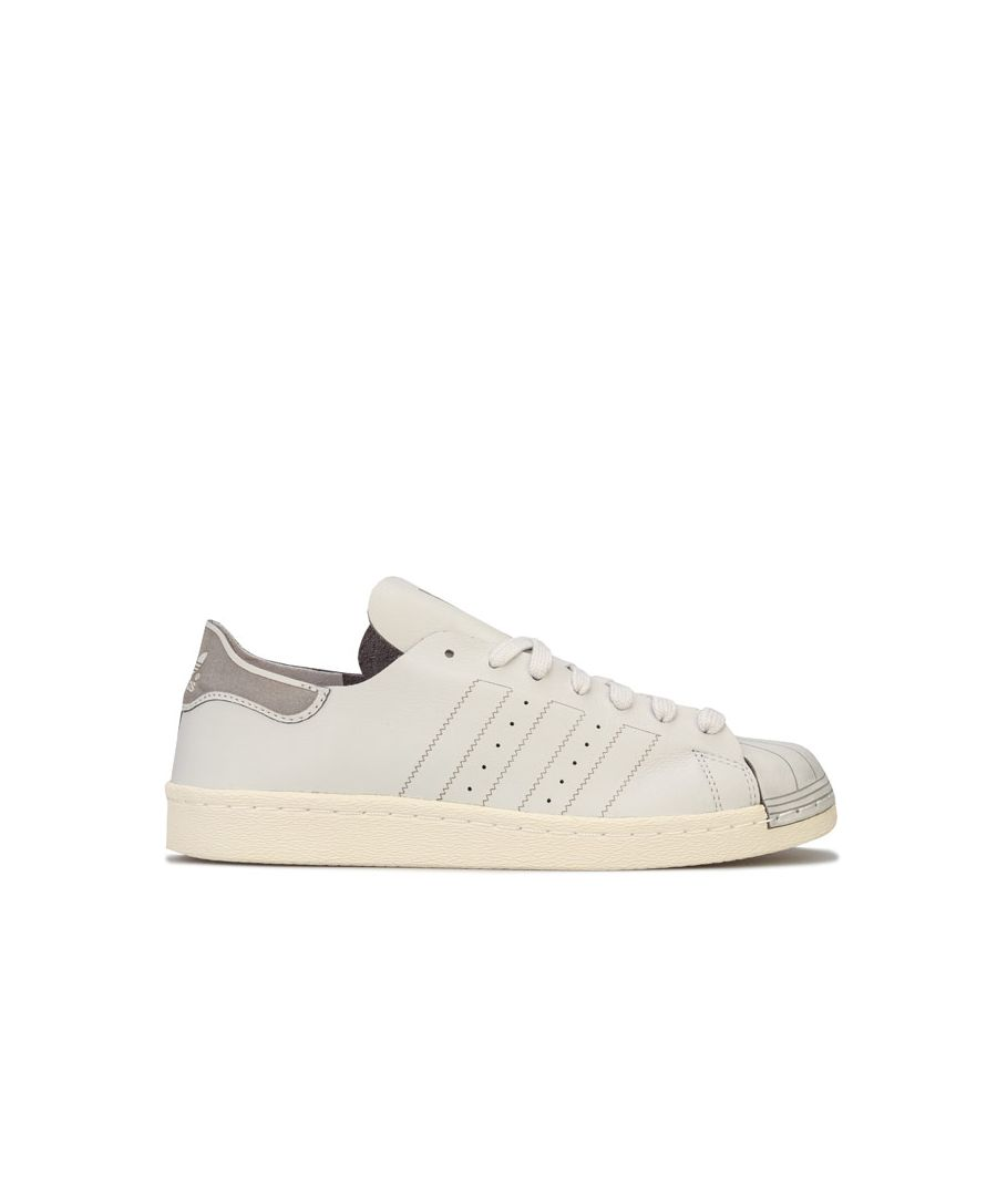 Image for Women's adidas Originals Superstar 80s Decon Trainers in Light Grey