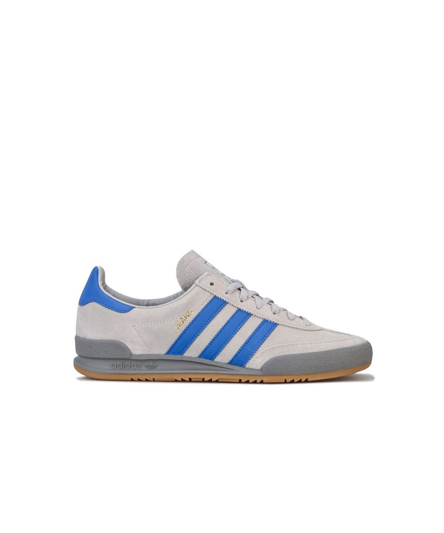 Image for Men's adidas Originals Jeans Trainers in Grey blue