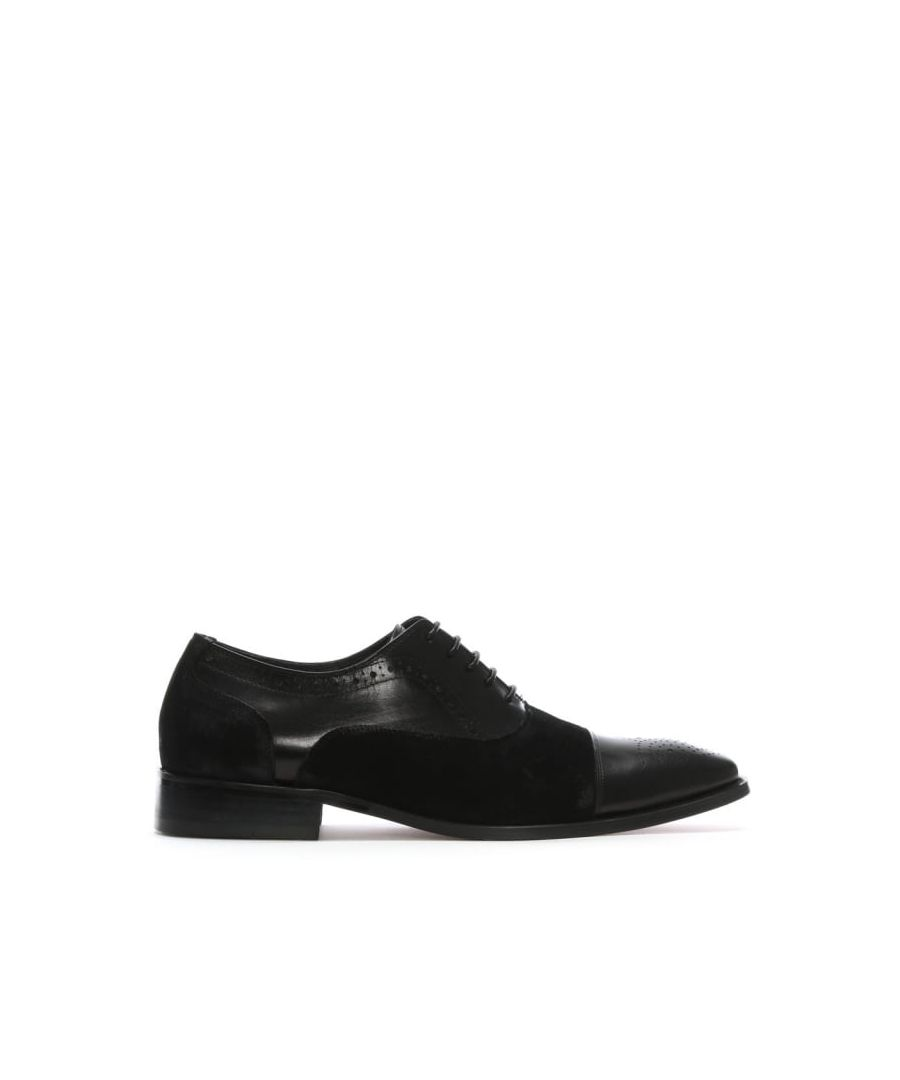 Image for Daniel Cranmore Leather & Suede Brogues