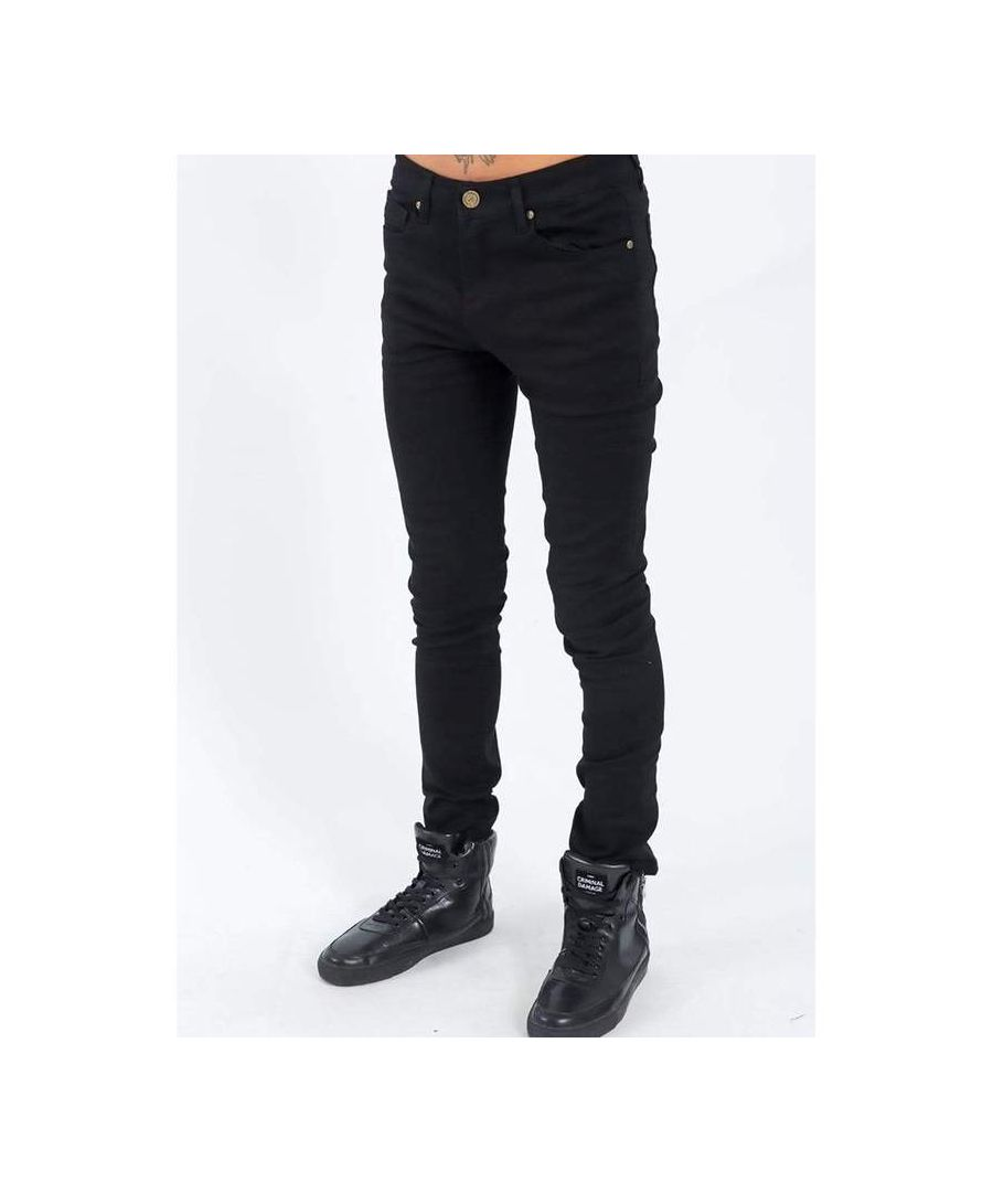 Image for SOS Skinny Jeans in Black