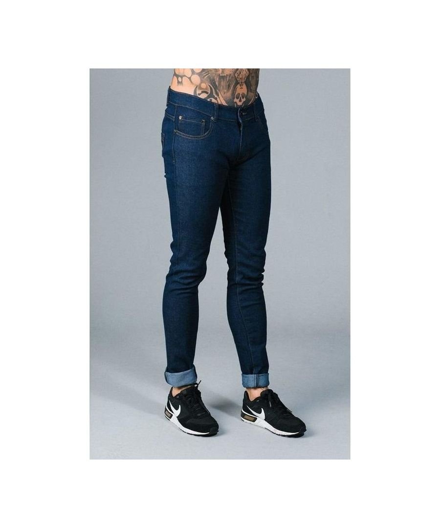 Image for Super Skinny Indigo Jeans