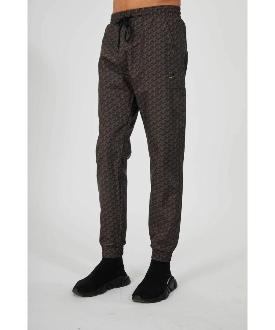 Image for Brown Louvre Joggers