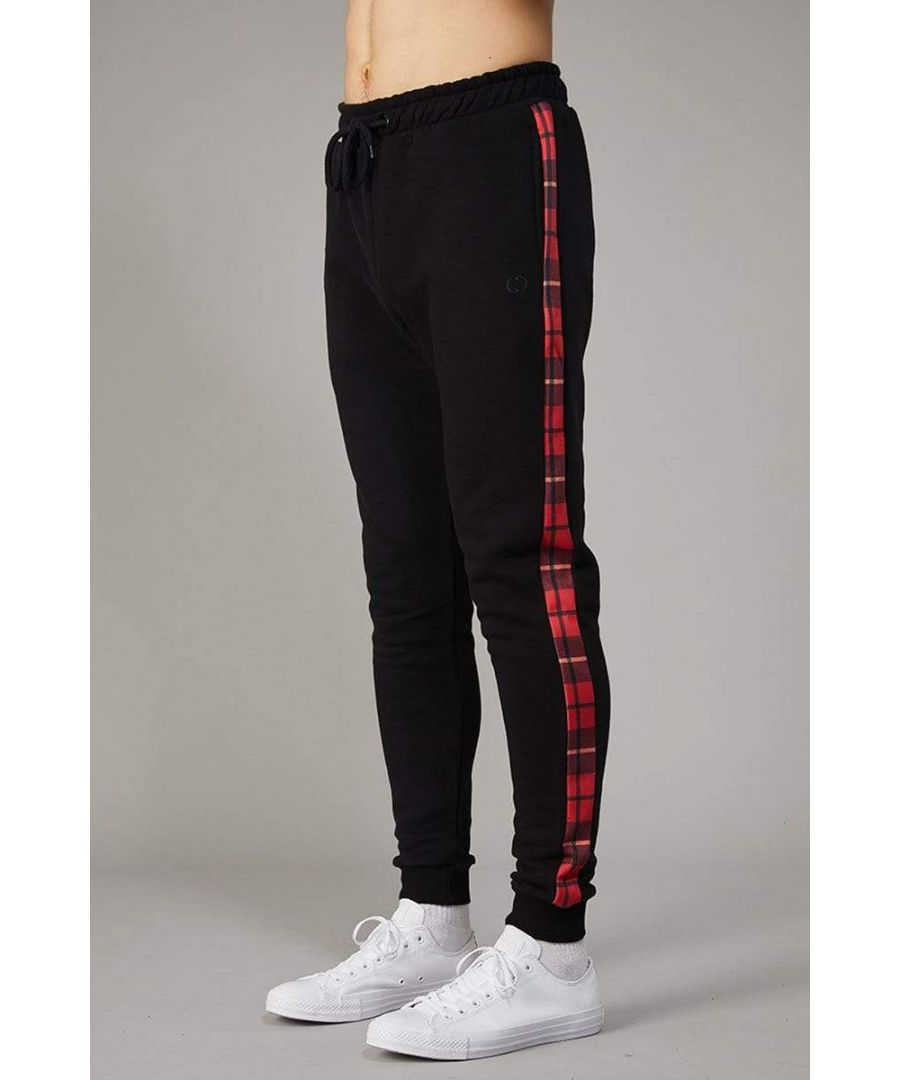Image for Red Check Globe Joggers