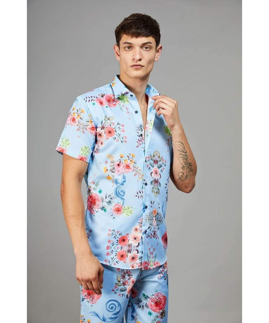 Image for Connor Floral Print Shirt