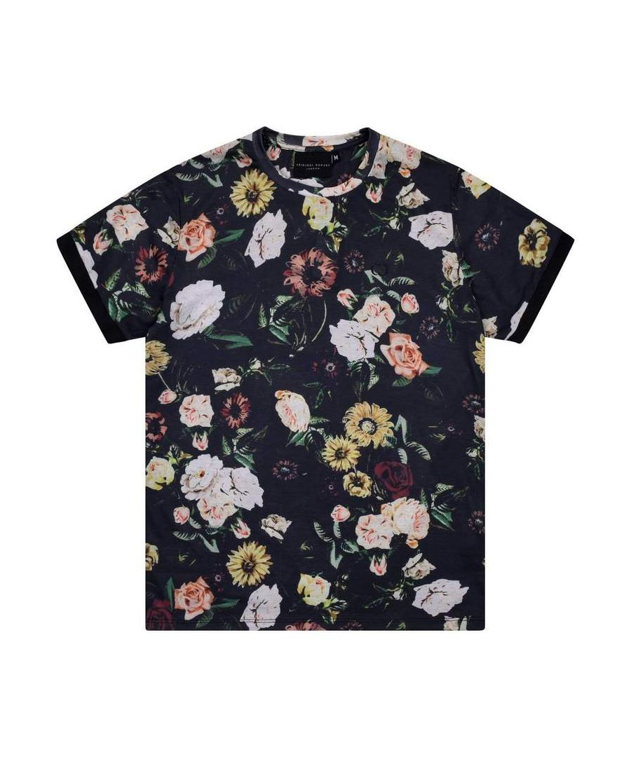 Image for Dante Flower Print T-shirt