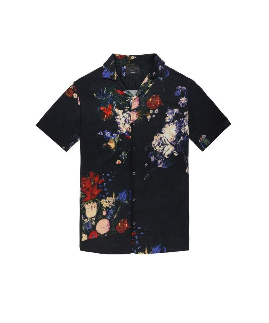 Image for Floral Oil Shirt - Multi