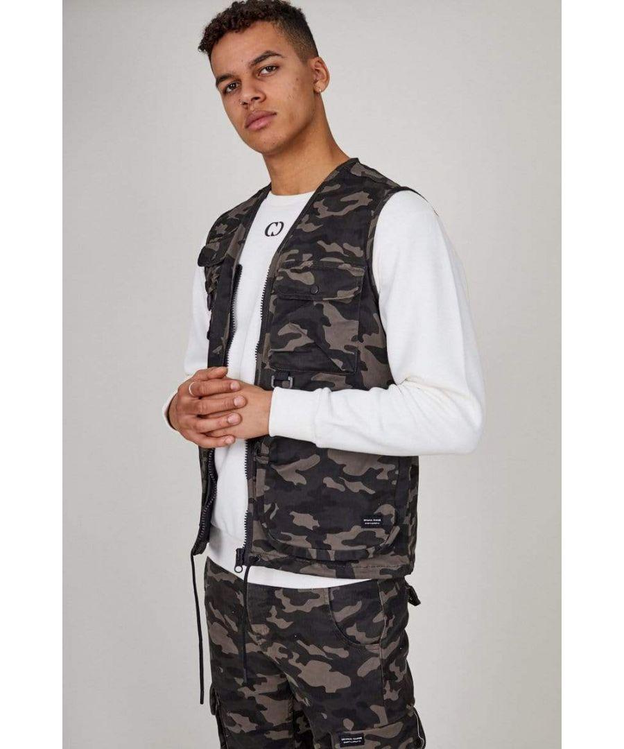 Image for Camo Cargo Vest