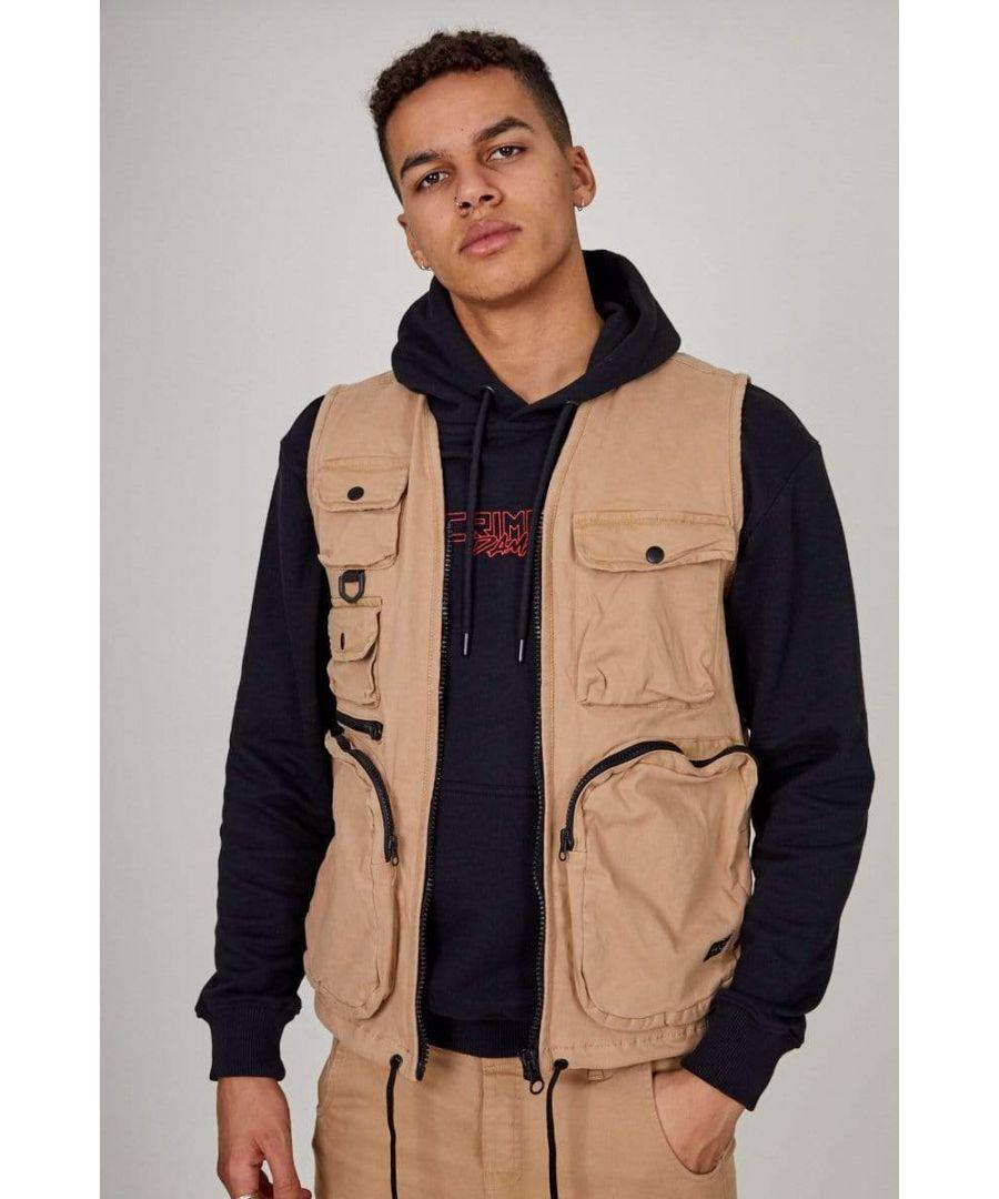 Image for Stone Cargo Vest