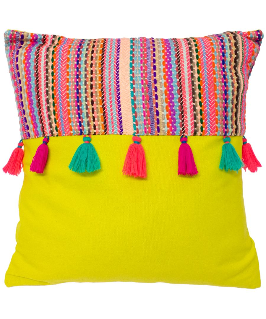 Image for Cuzco 45X45 Poly Cushion Lime Green