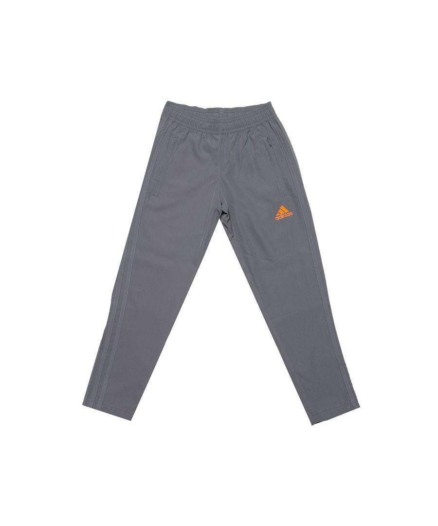 Image for Boy's adidas Junior Condivo 18 Woven Track Pants in Grey
