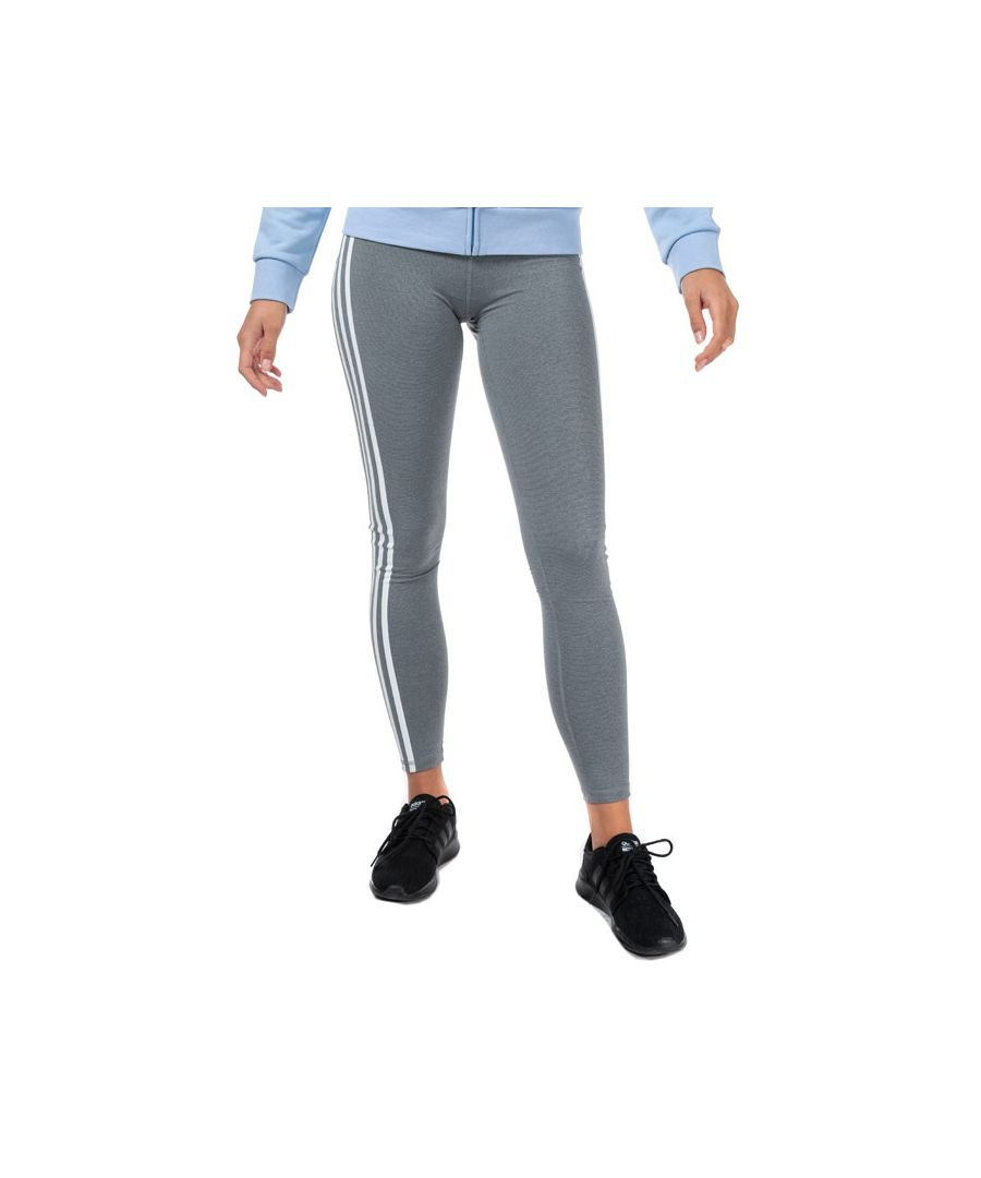 Image for Women's adidas Believe This 3-Stripes Tights in Grey