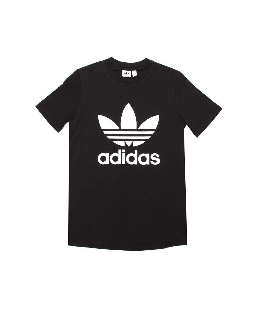 Image for Women's adidas Originals Trefoil T-Shirt in Black-White