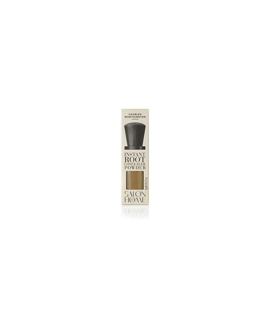 Image for Charles Worthington Instant Root Concealer Powder 6g - Dark Blonde