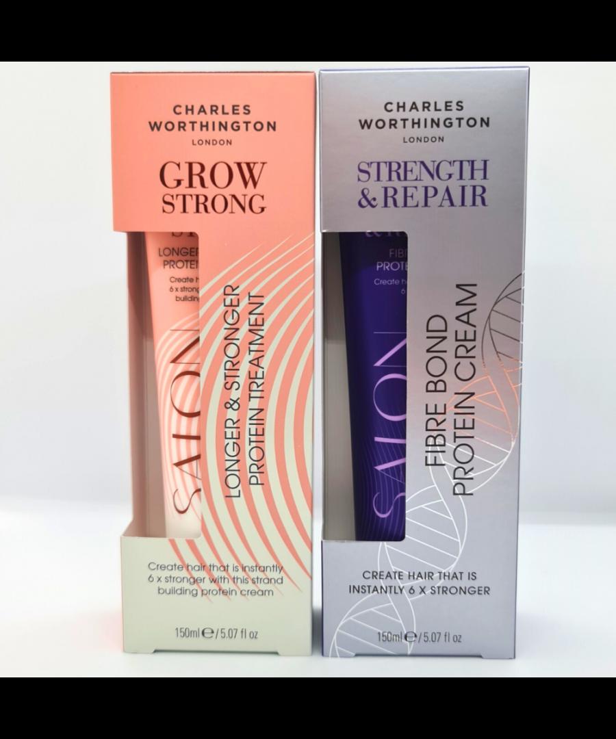 Image for Charles Worthington Grow & Repair Protein Creams