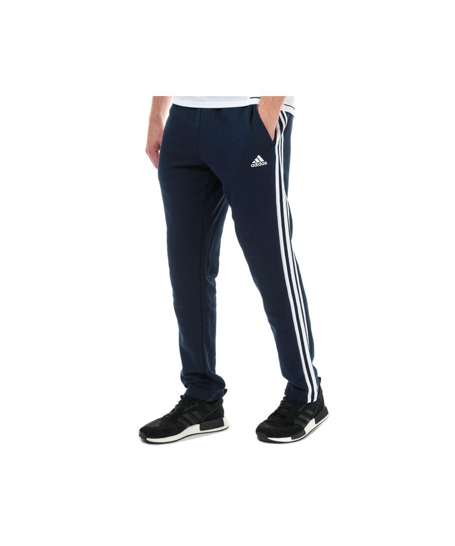Image for Men's adidas Essential 3-Stripes Jog Pants in Navy