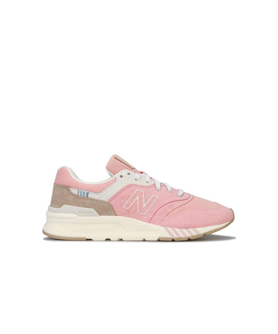 Image for Women's New Balance 997 Trainers in Pink
