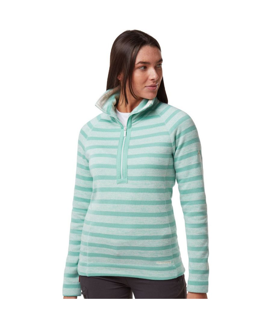 Image for Craghoppers Womens Alphia Insualted Half Zip Fleece Jacket