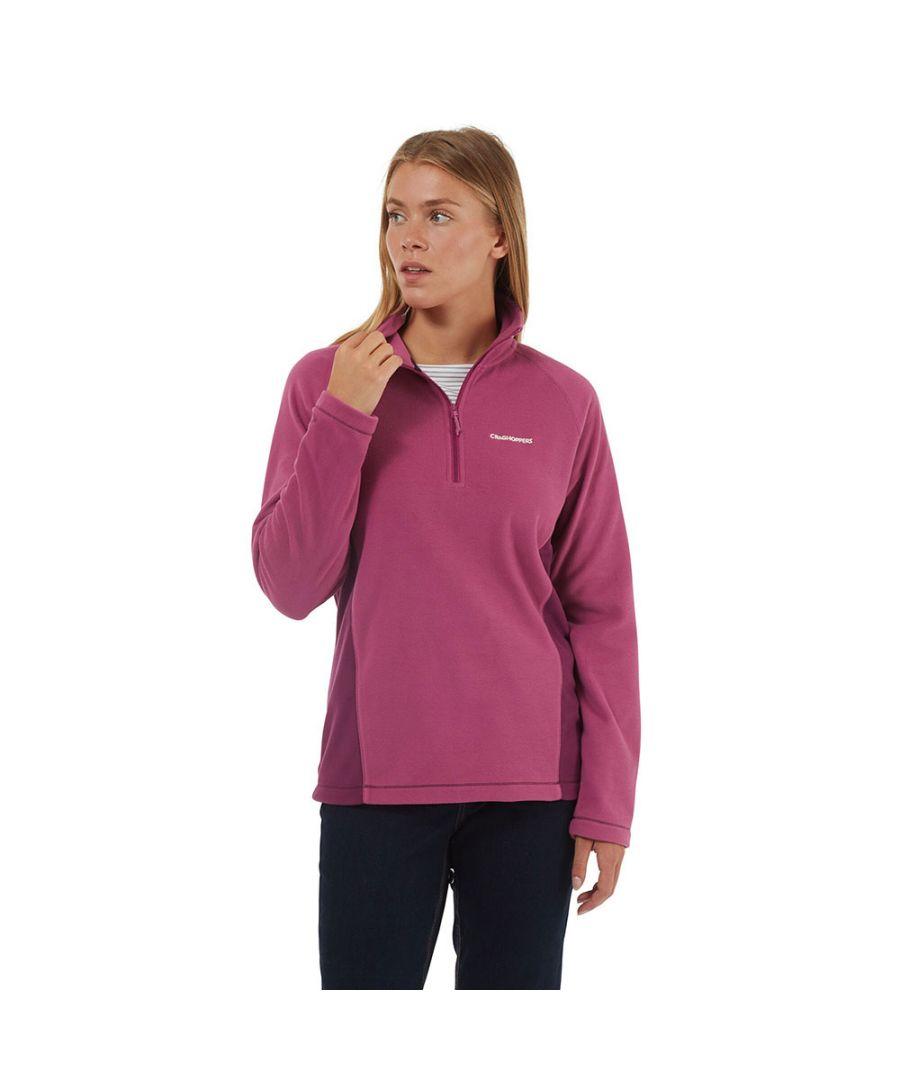 Image for Craghoppers Womens Miska Half Zip Micro Fleece Jacket