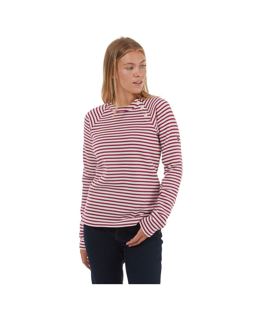 Image for Craghoppers Womens Neela Crew Neck Polyester Jumper Sweater
