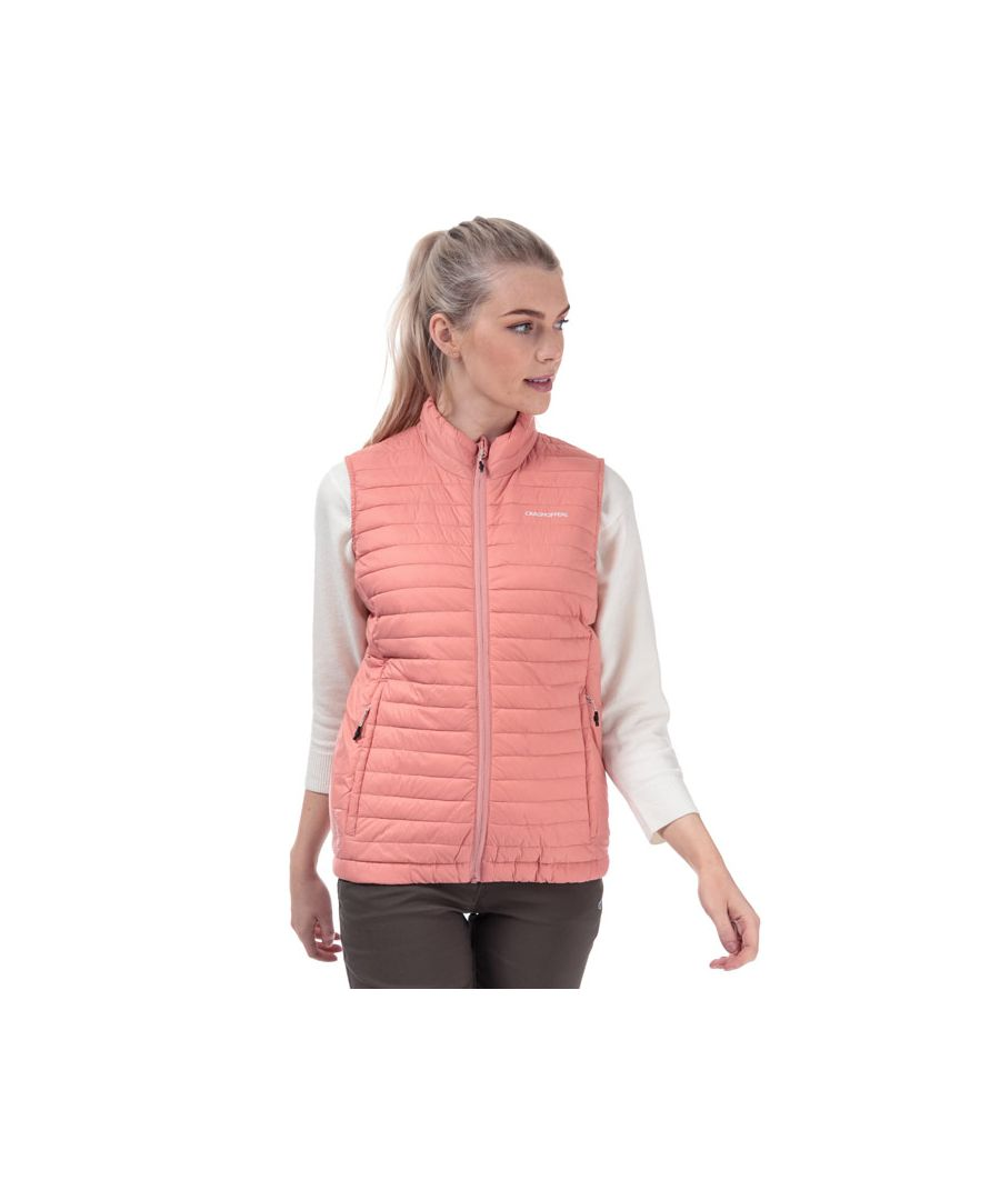 Image for Women's Craghoppers Venta Lite Gilet in Rose
