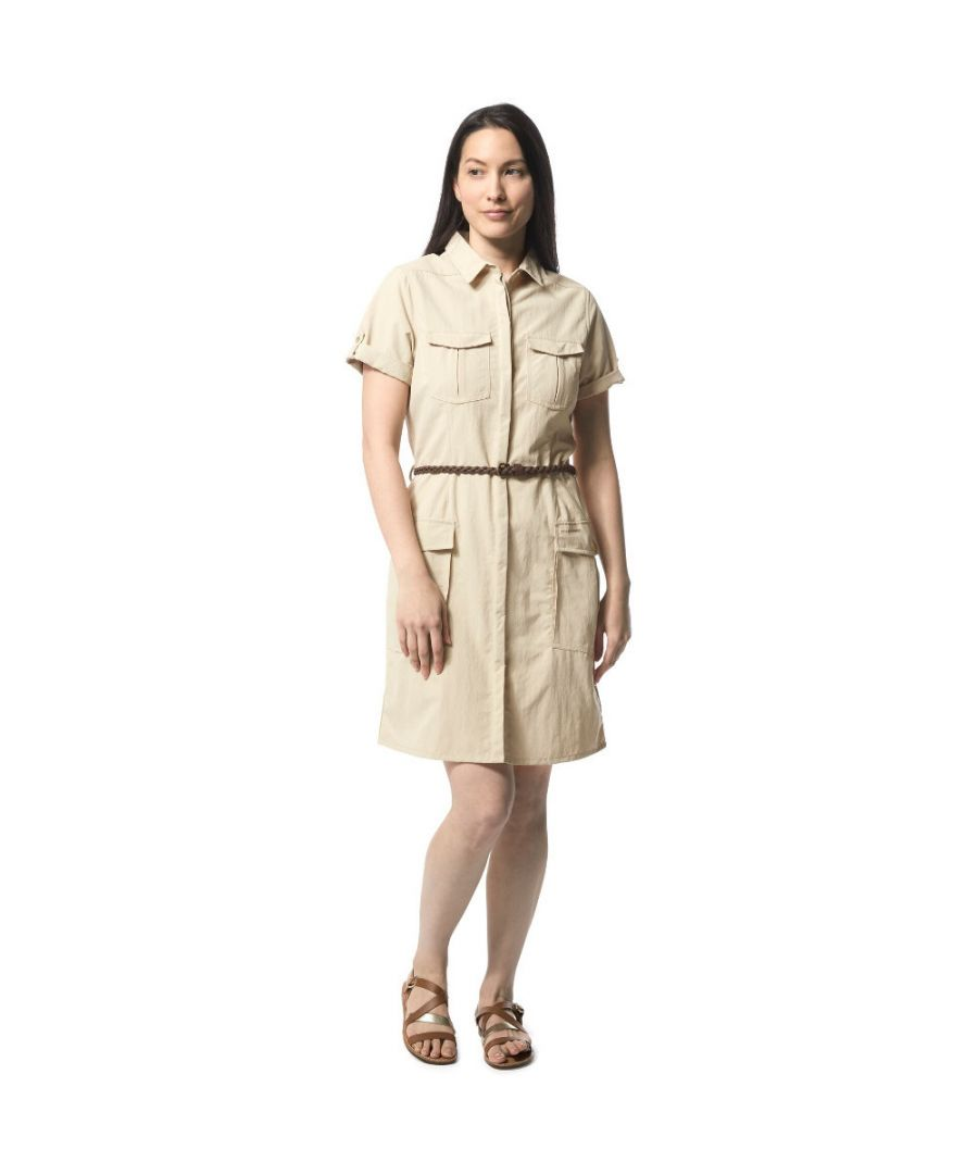 Image for Craghoppers Womens Nosi Life Savannah Buttoned Summer Dress