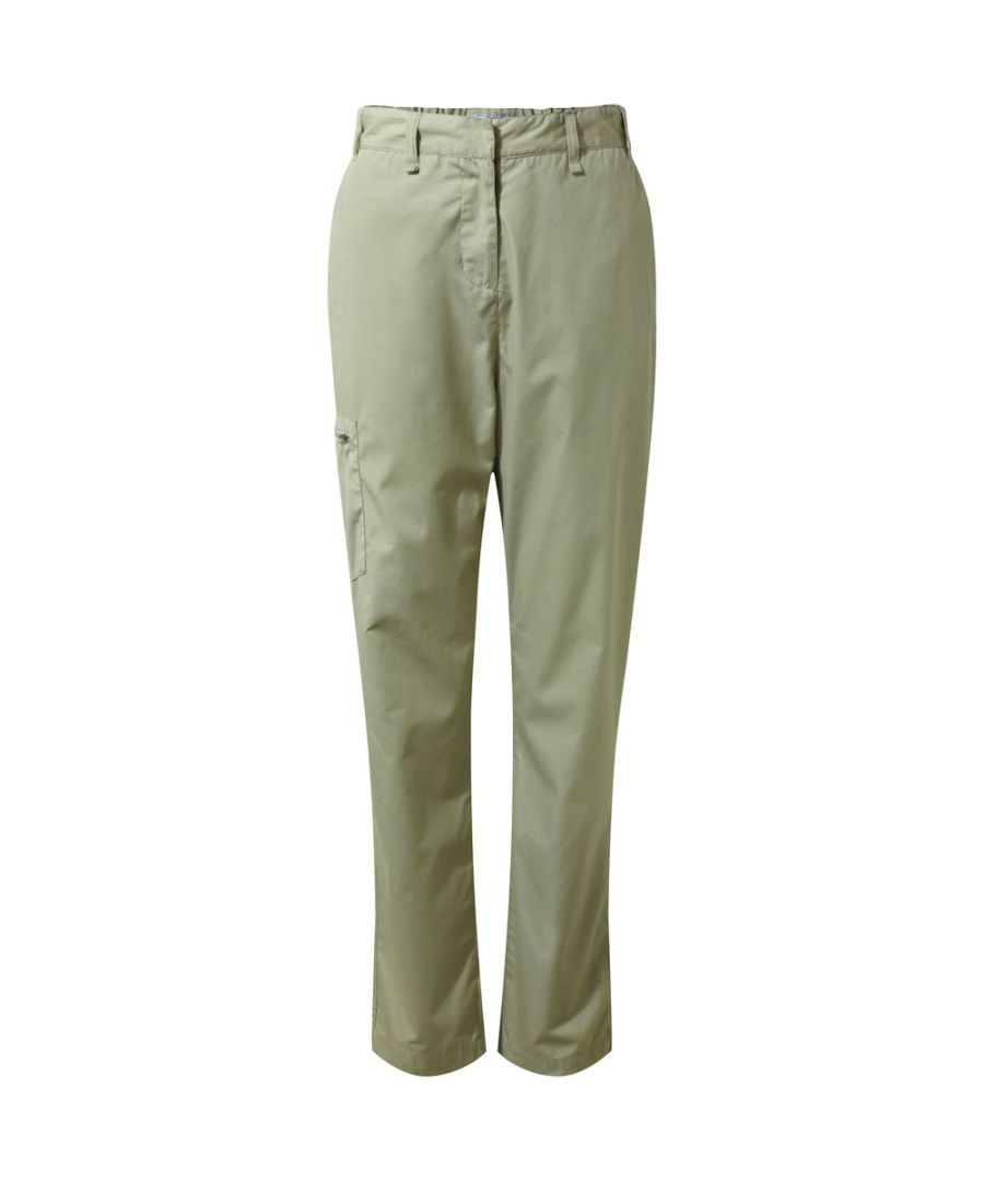 Image for Craghoppers Womens/Ladies Kiwi II NosiLife Travel Walking Trousers