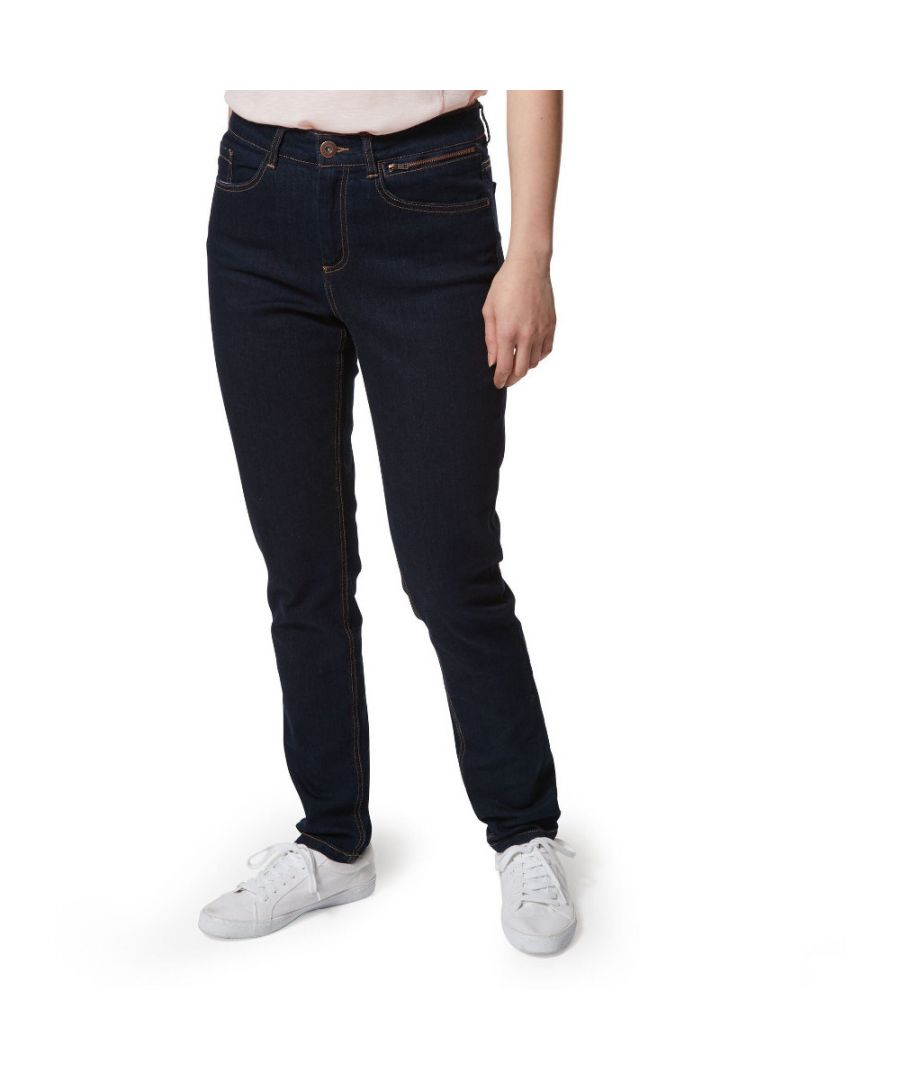 Image for Craghoppers Womens Ellory Easy Wear Summer Skinny Jeans