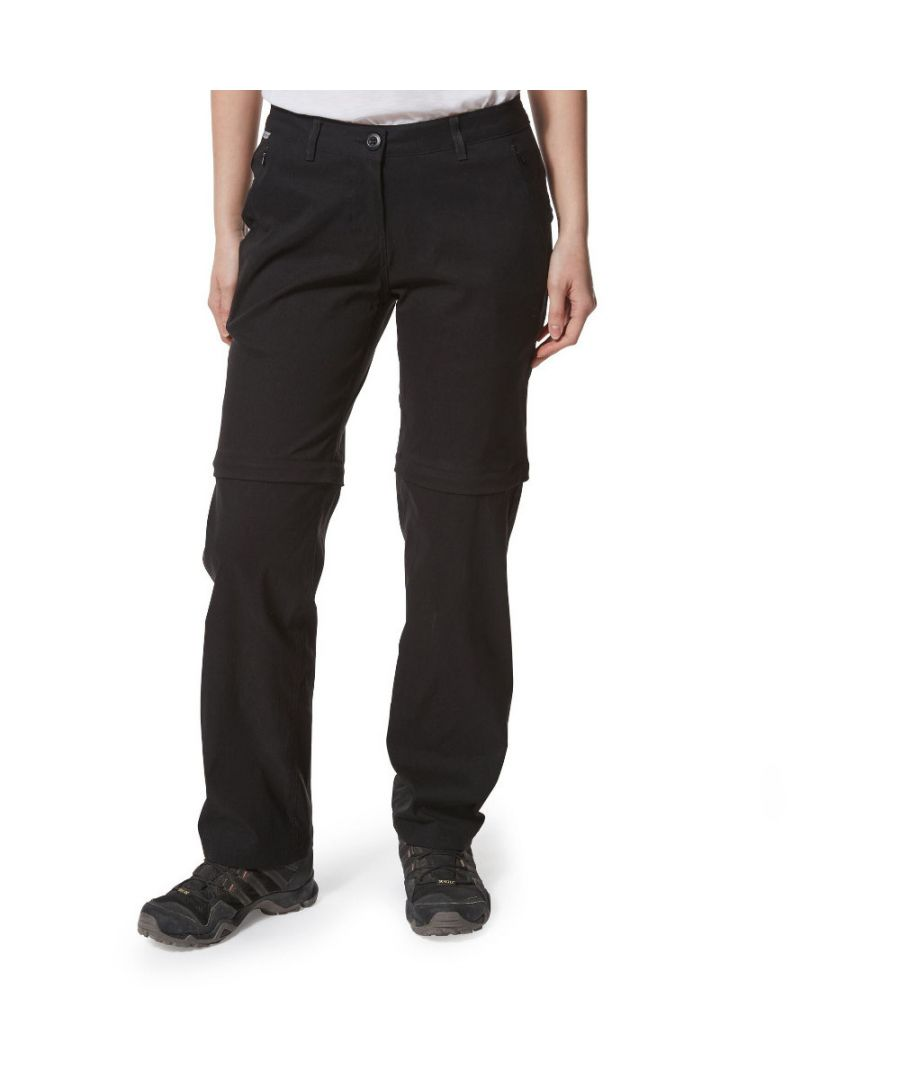 Image for Craghoppers Womens Kiwi Pro Convertible Zip Off Trousers