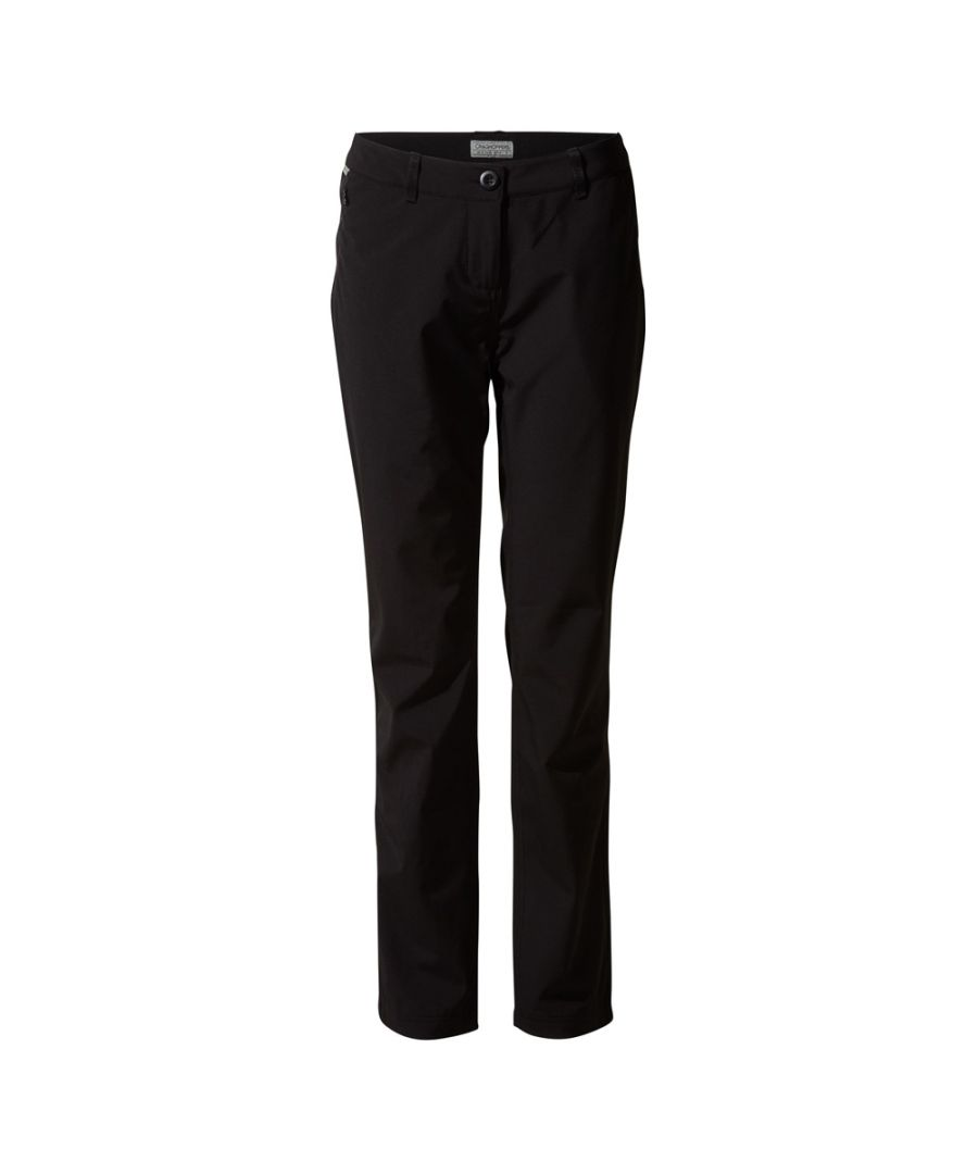 Image for Craghoppers Womens Kiw Pro Softshell SmartDry Trousers