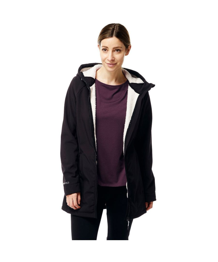 Image for Craghoppers Womens/Ladies Ingrid Hooded Water Resistant Insulated Jacket