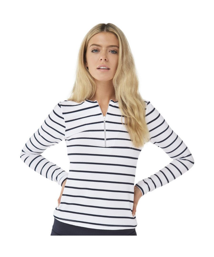 Image for Craghoppers Womens NosiLife Cordelia Rash Vest Baselayer Top