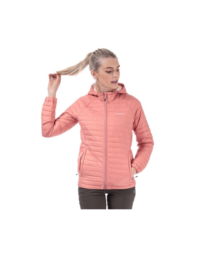 Image for Women's Craghoppers Venta Lite Hooded Jacket in Rose