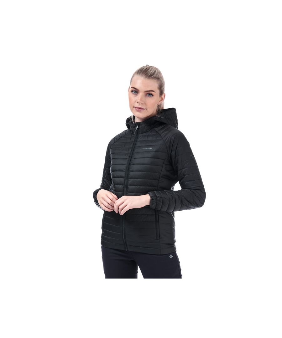 Image for Women's Craghoppers Venta Lite Hooded Jacket in Black