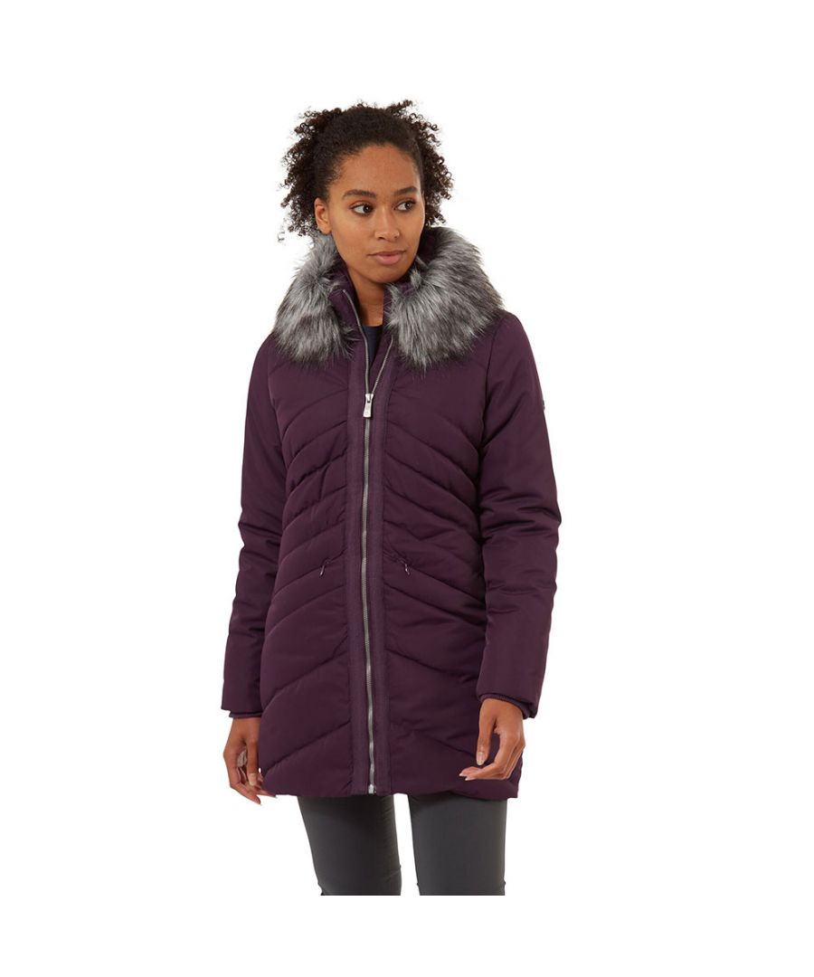 Image for Craghoppers Womens Ardelle Insulated Hooded Parka Coat