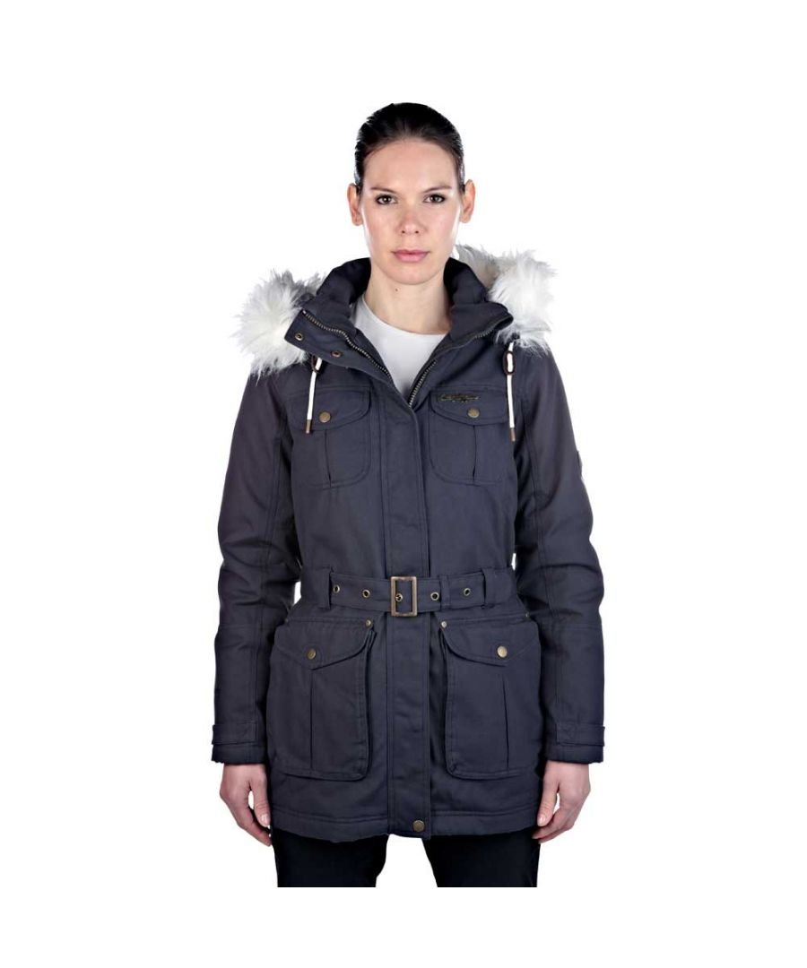 Image for Craghoppers Ladies Ashby Waterproof Coat Navy CWP938