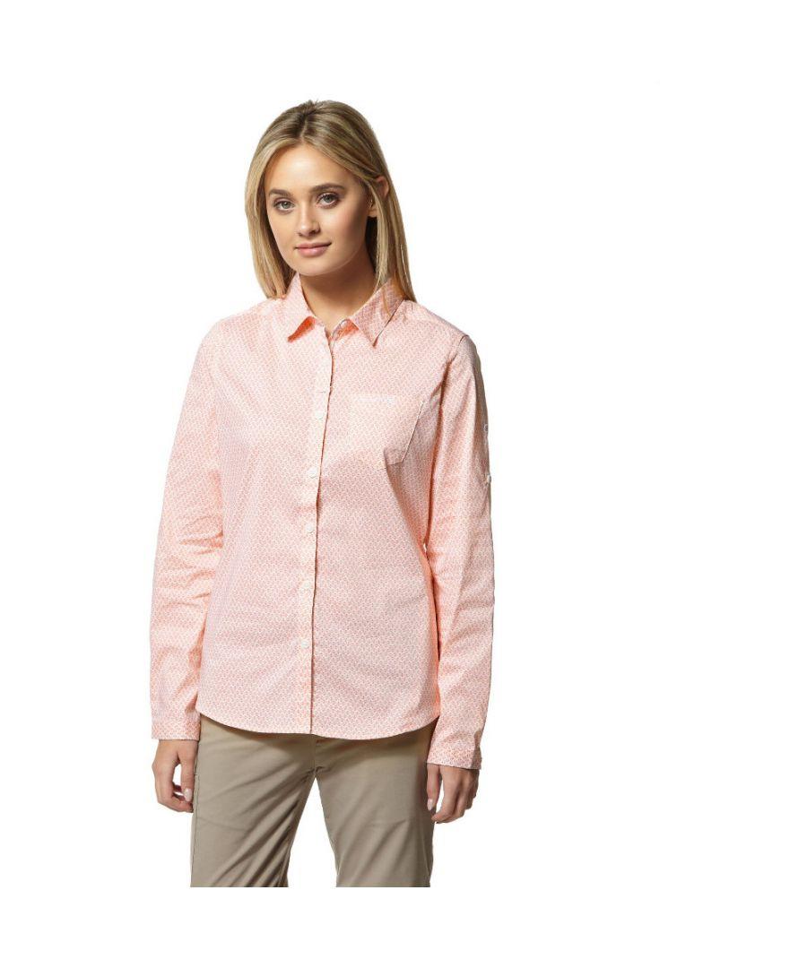 Image for Craghoppers Womens Nosi Life Verona Long Sleeve Shirt