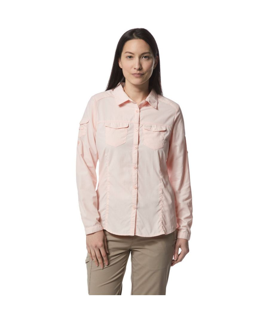 Image for Craghoppers Womens Nosi Life Adventure Long Sleeve Shirt