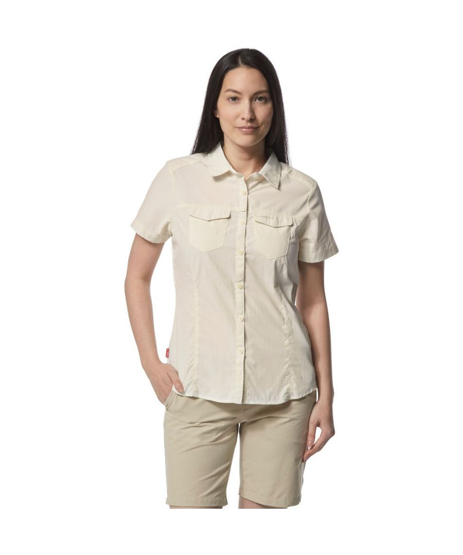 Image for Craghoppers Womens Nosi Life Adventure Short Sleeve Shirt