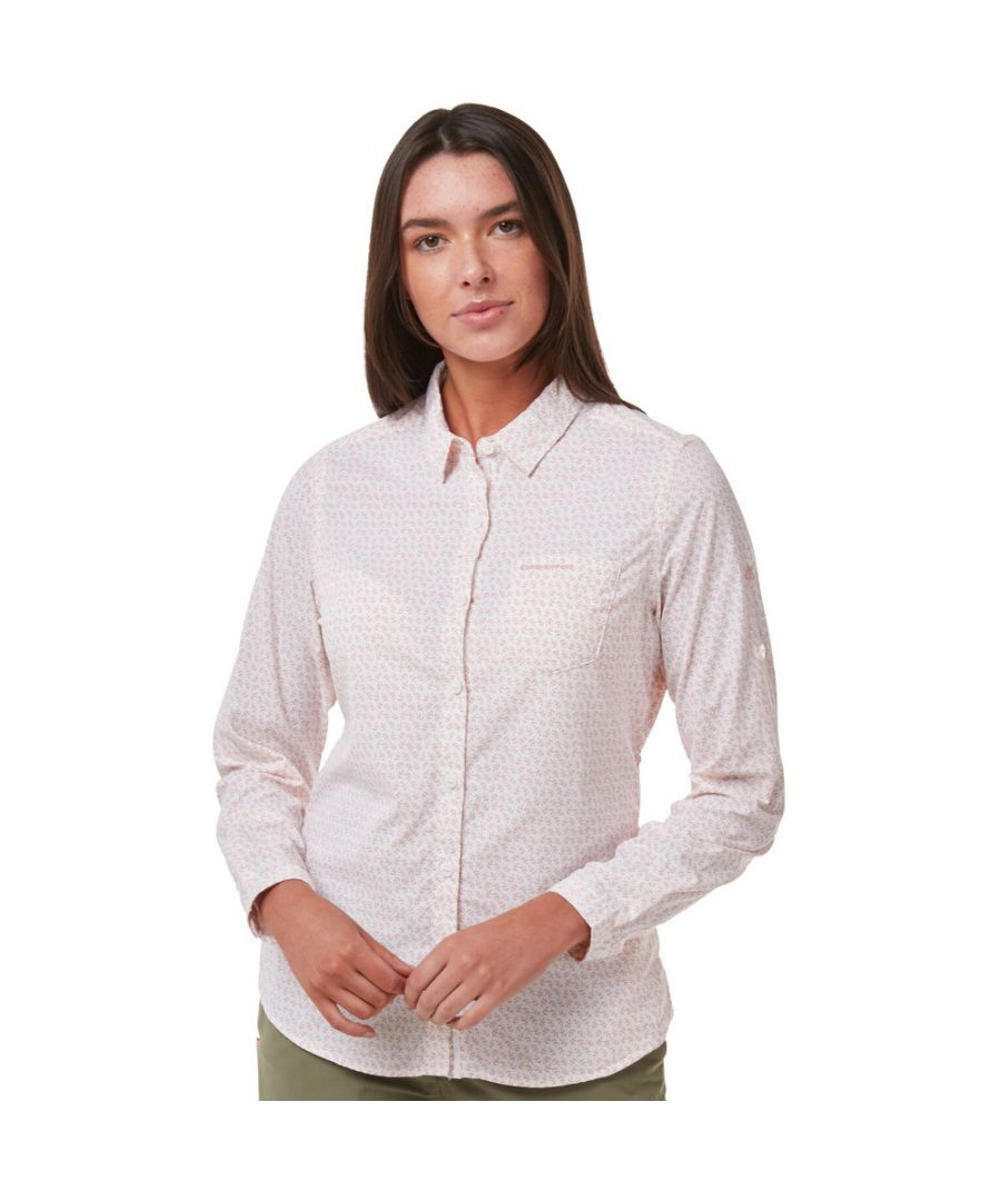 Image for Craghoppers Womens NosiLife Gisele Wicking Long Sleeve Shirt