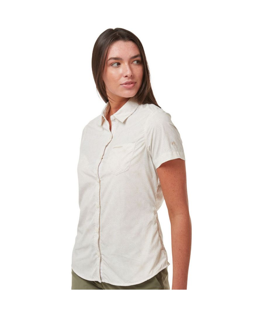 Image for Craghoppers Womens NosiLife Vanna Short Sleeve Shirt