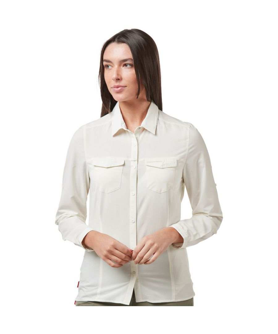 Image for Craghoppers Womens NosiLife Pro Durable Long Sleeve Shirt