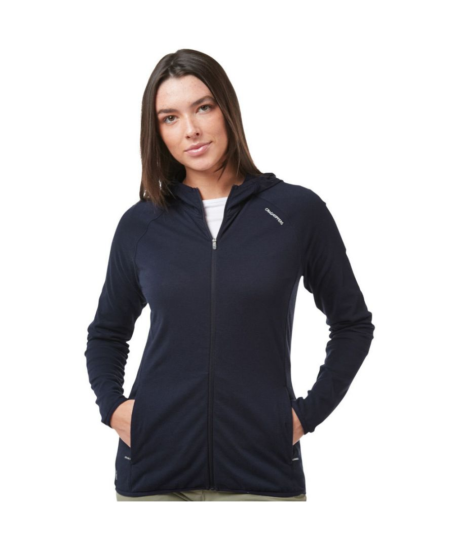 Image for Craghoppers Womens NosiLife Nilo Full Zip Hooded Top