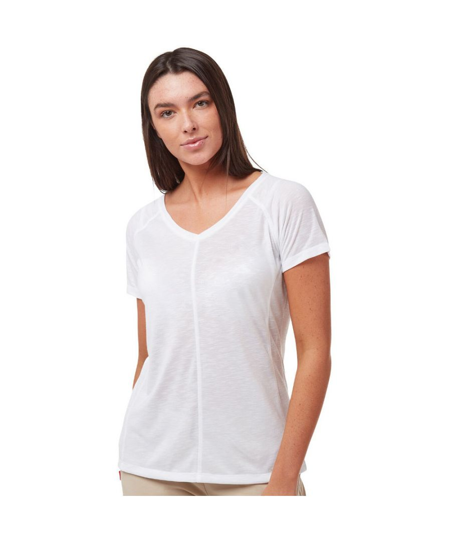 Image for Craghoppers Womens NosiLife Galena Relaxed Fit T Shirt