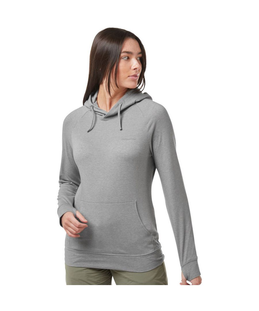 Image for Craghoppers Womens NosiLife Alandra Relaxed Fit Hooded Top
