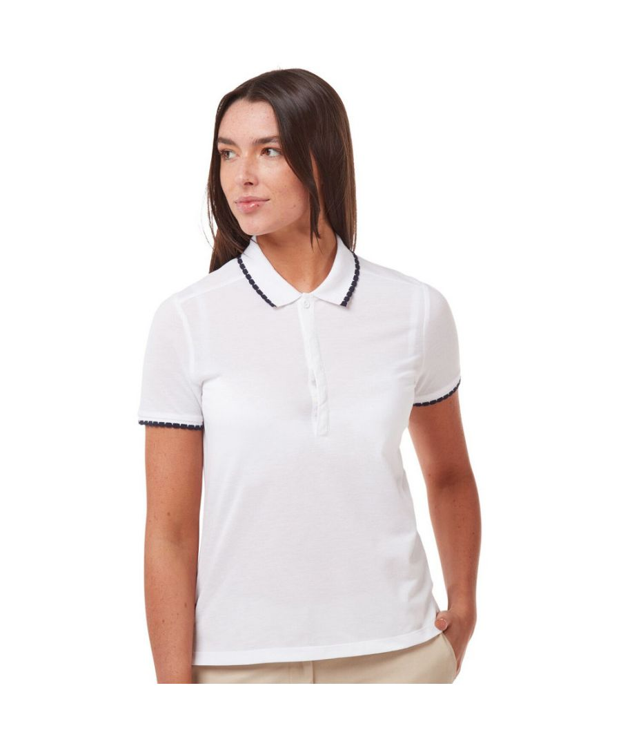 Image for Craghoppers Womens NosiLife Lina Quick Drying Polo Shirt