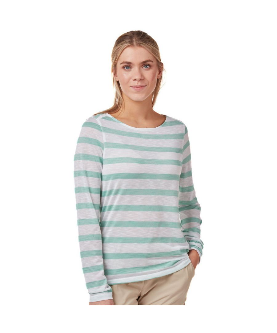 Image for Craghoppers Womens NosiLife Erin Quick Dry Long Sleeve Top